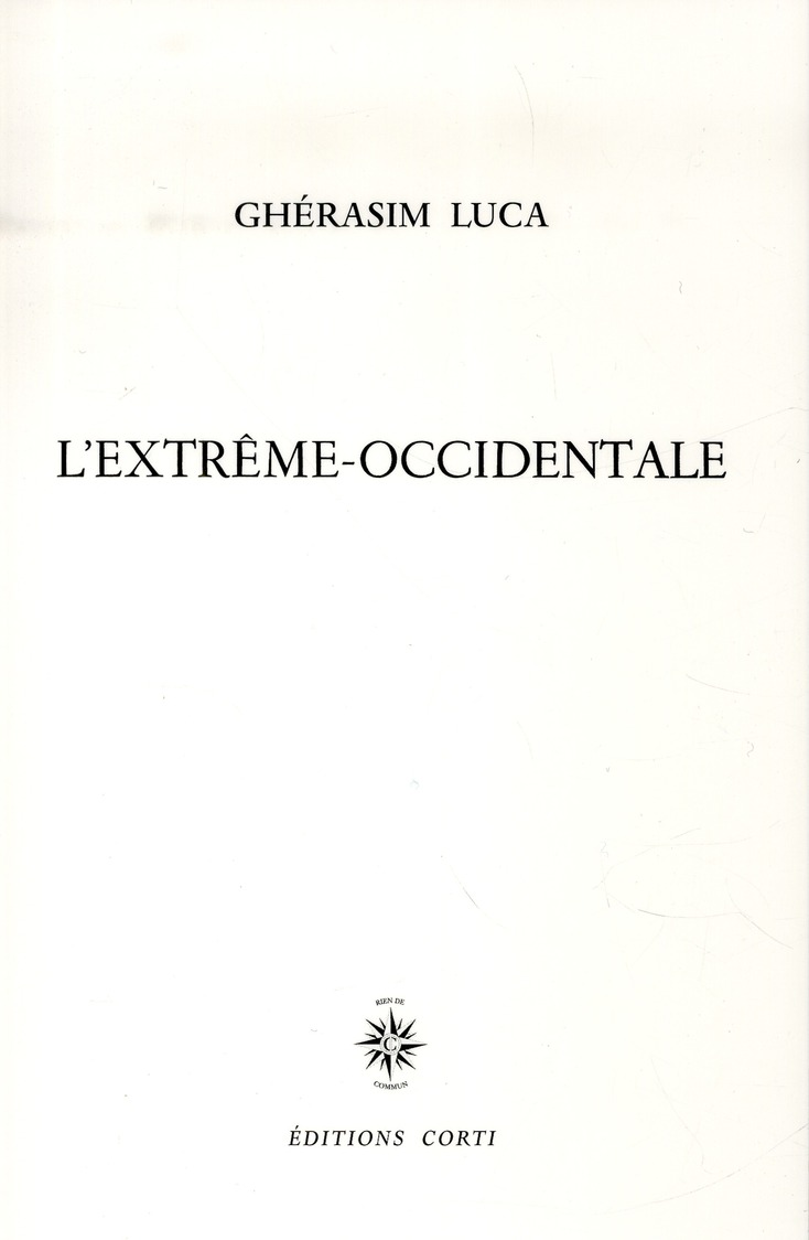 L'EXTREME-OCCIDENTALE SEPT RITUELS