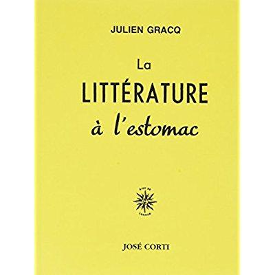 LA LITTERATURE A L ESTOMAC