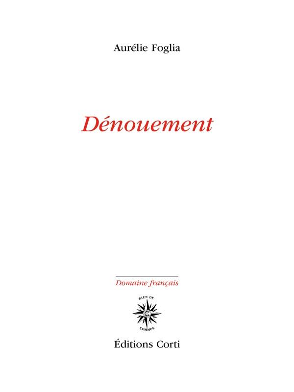 DENOUEMENT