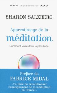APPRENTISSAGE DE LA MEDITATION