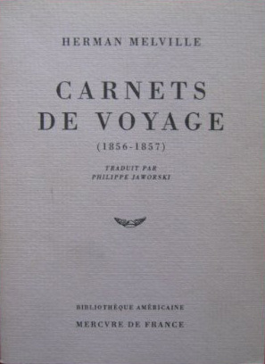 CARNETS DE VOYAGE - (1856-1857)