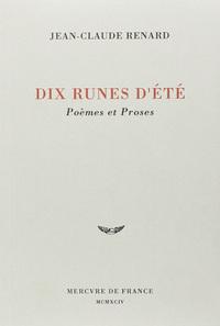DIX RUNES D'ETE