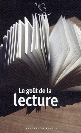 Le gout de la lecture