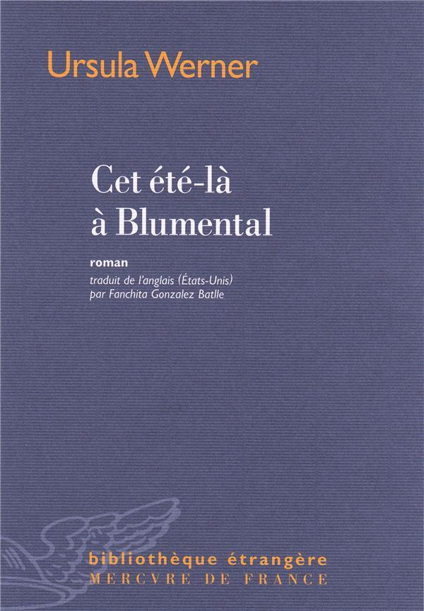 CET ETE-LA A BLUMENTAL