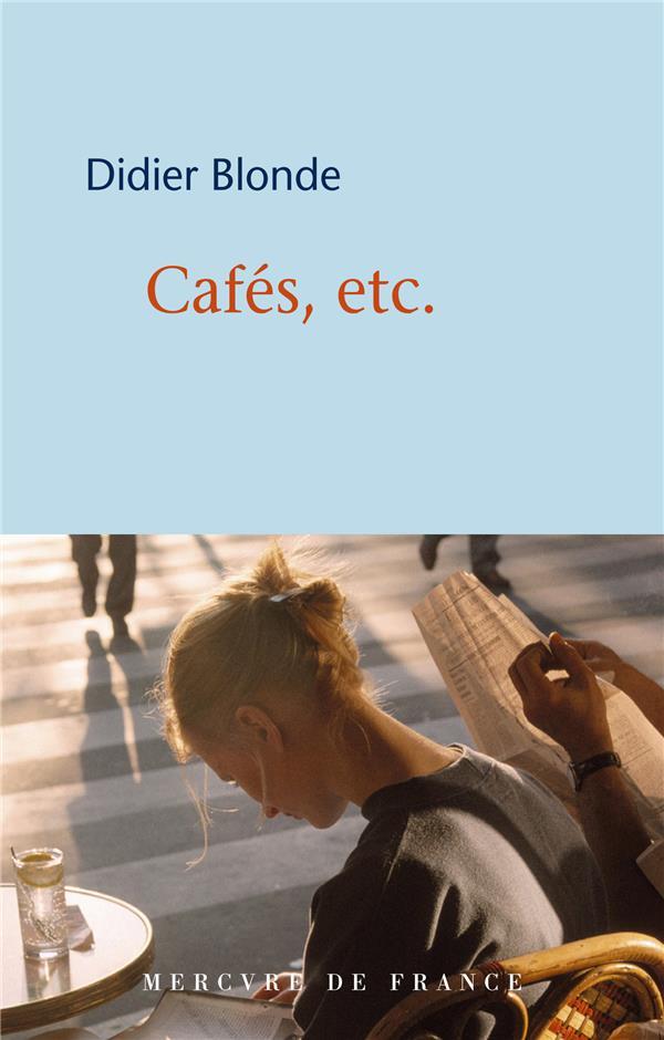 Cafes, etc.