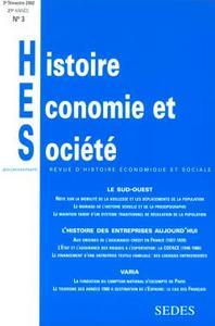 HISTOIRE, ECONOMIE & SOCIETE 3/2002