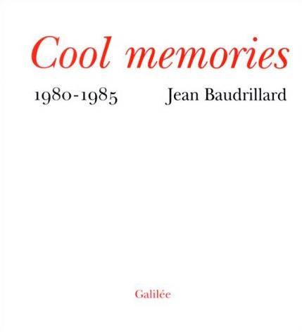 COOL MEMORIES 1980-1985