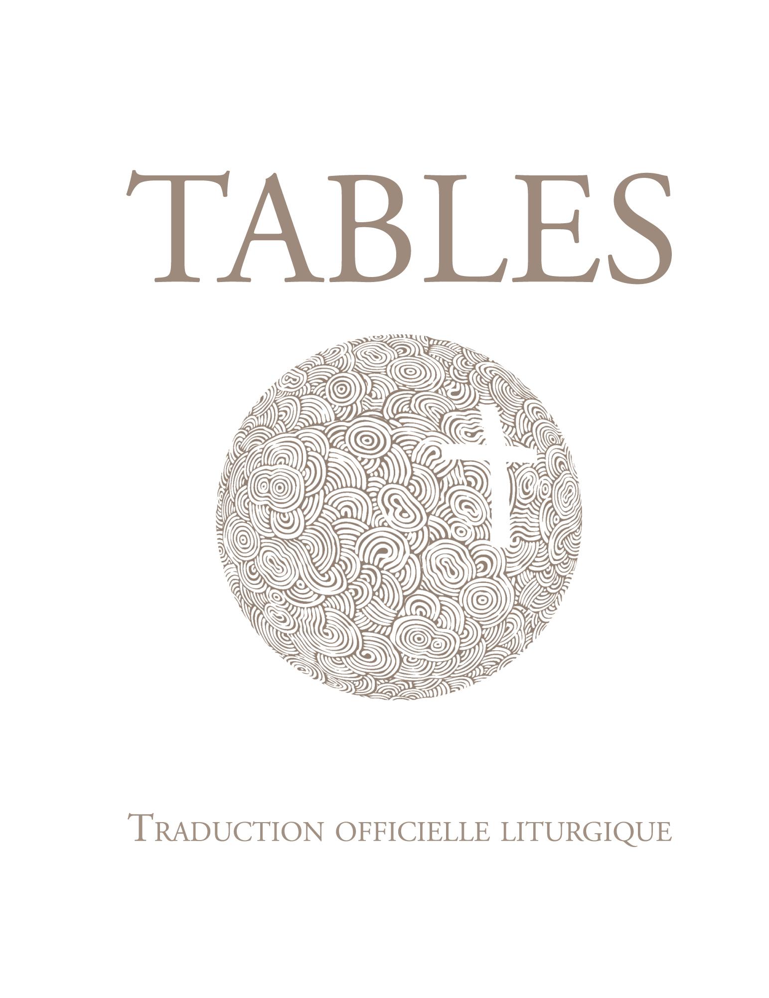 TABLES DE LA BIBLE
