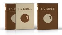 LA BIBLE - TRADUCTION OFFICIELLE LITURGIQUE  CUIR MARRON