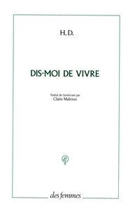 """"""" DIS-MOI DE VIVRE """" UN MADRIGAL"""
