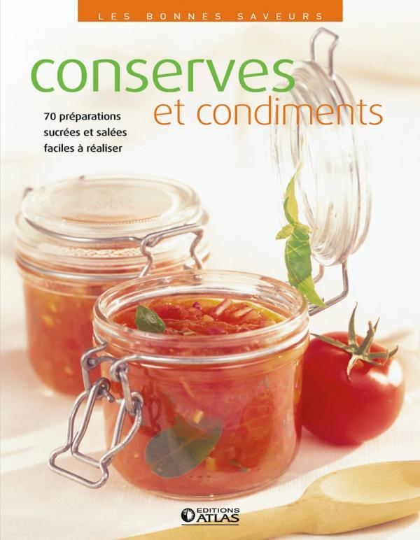 CONSERVES ET CONDIMENTS