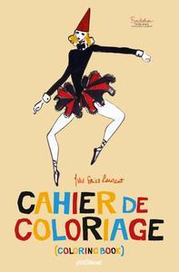 CAHIER DE COLORIAGE YVES SAINT LAURENT - POCHE