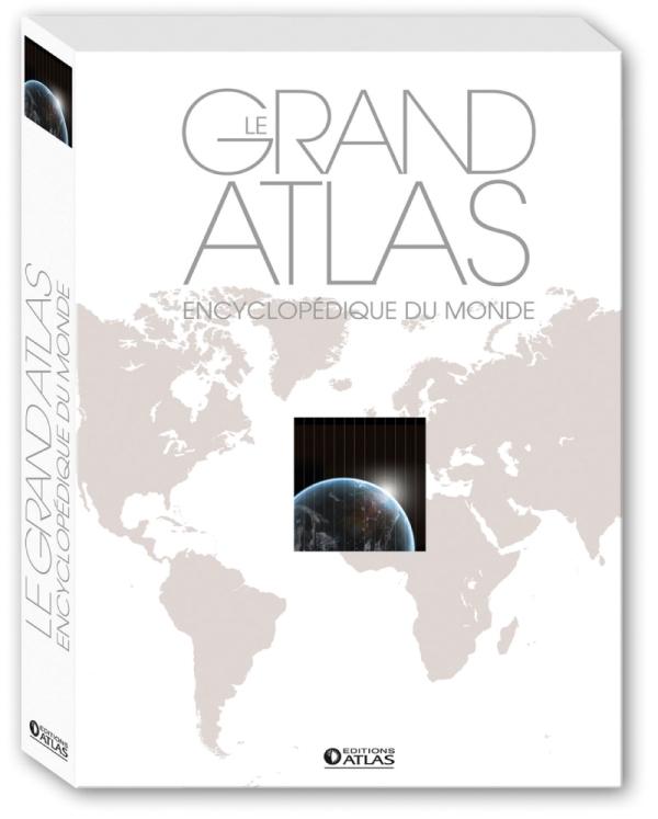LE GRAND ATLAS ENCYCLOPEDIQUE DU MONDE (ED. LUXE) - EDITION LUXE