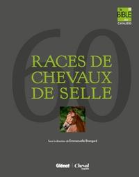60 RACES DE CHEVAUX DE SELLE