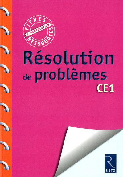 Resolution de problemes ce1