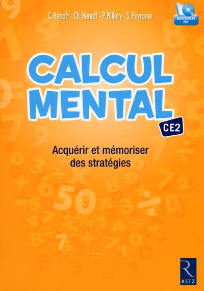 Calcul mental ce2 - acquerir et memoriser des strategies + cd