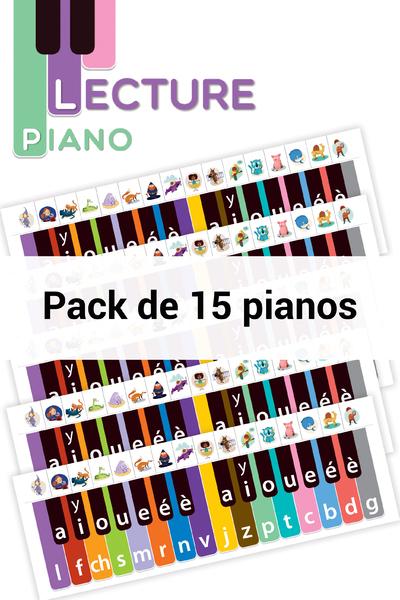 PACK DE 15 - OUTIL PIANO