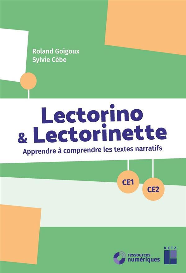 Lectorino et lectorinette ce1-ce2 + cd-rom + telechargement