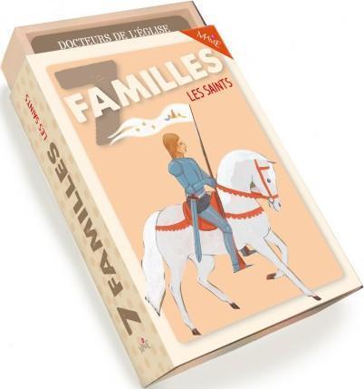 JEU DES 7 FAMILLES - LES SAINTS