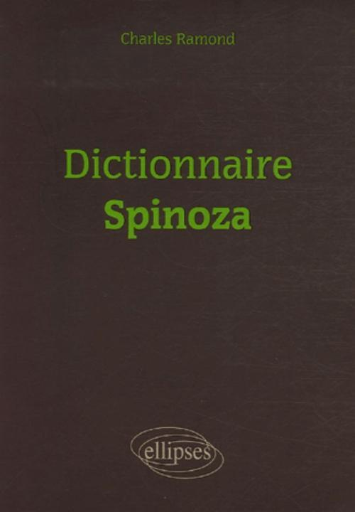 DICTIONNAIRE DE SPINOZA