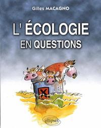 L'ECOLOGIE EN QUESTIONS