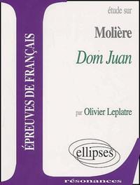 MOLIERE, DOM JUAN