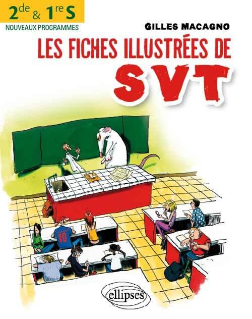 LES FICHES ILLUSTREES DE SVT POUR LES 2DE ET LES 1RE S