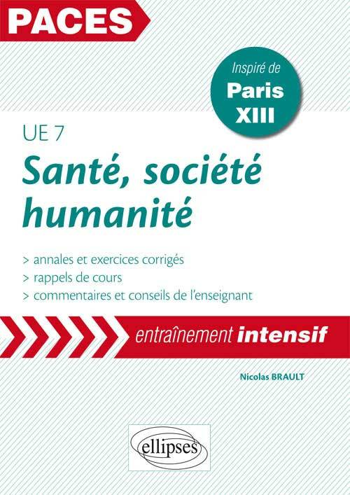 UE7 - SANTE, SOCIETE, HUMANITE