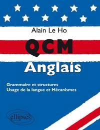 QCM D'ANGLAIS