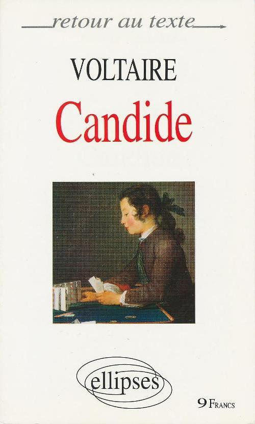 VOLTAIRE, CANDIDE