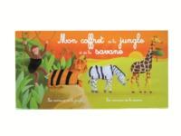 MON COFFRET DES ANIMAUX DE LA JUNGLE ET DE LASAVANE