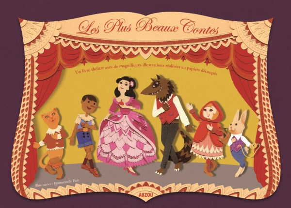 MES PLUS BEAUX CONTES (PAPIERS DECOUPES)