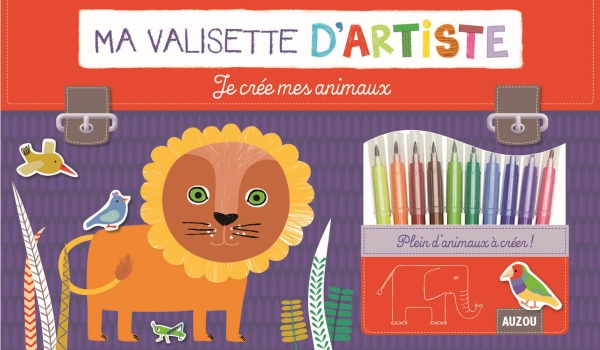 JE CREE MES ANIMAUX (COLL. MA VALISETTE D'ARTISTE)