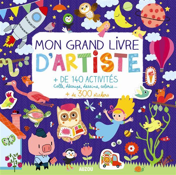 MON GRAND LIVRE D'ARTISTE
