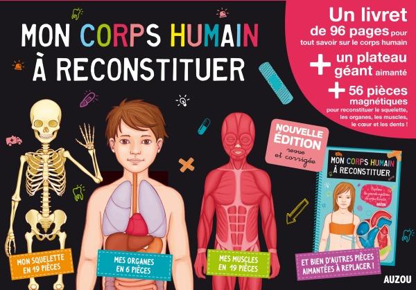 MON CORPS HUMAIN A RECONSTITUER (MA PREMIERE BOITE A JOUER) - EDITION 2014