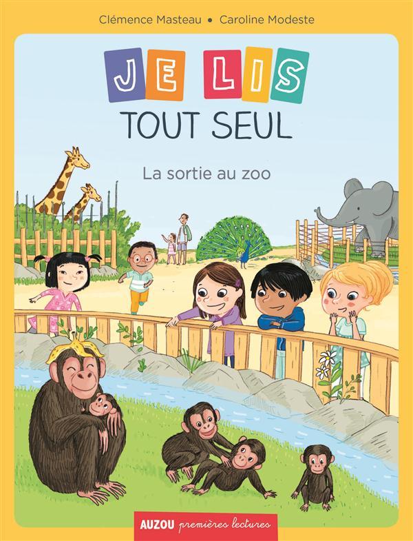 JE LIS TOUT SEUL - TOME 1- LA SORTIE AU ZOO (COLL. PREMIERES LECTURES)