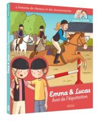 EMMA ET LUCAS FONT DE L'EQUITATION