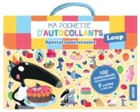 MA POCHETTE D'AUTOCOLLANTS LOUP - SPECIAL ANNIVERSAIRE (COLL. MA POCHETTE D'ARTI