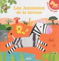 LES P'TITS TOUT DOUX - LES ANIMAUX DE LA SAVANE
