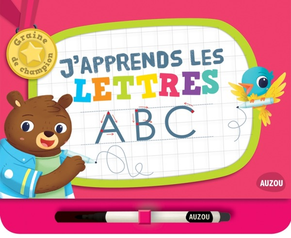 J'APPRENDS LES LETTRES (COLL. GRAINE DE CHAMPION)