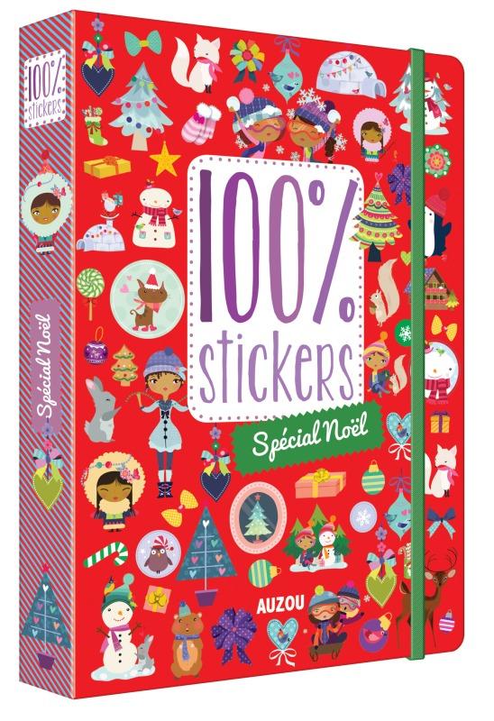 100 STICKERS - SPECIAL NOEL