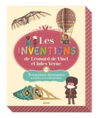 LES INVENTIONS DE LEONARD DE VINCI ET DE JULES VERNE. 5 MACHINES ETONNANTES A MO