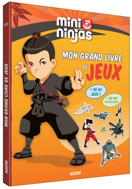 MINI NINJAS - MON GRAND LIVRE DE JEUX