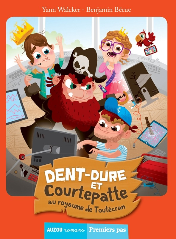 TOME 4 - DENT-DURE ET COURTEPATTE AU ROYAUME DE TOUTECRAN (COLL. PREMIERS PAS)
