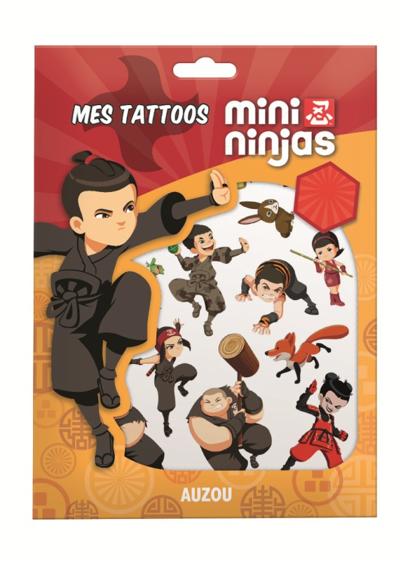 MINI NINJAS - MES TATTOOS