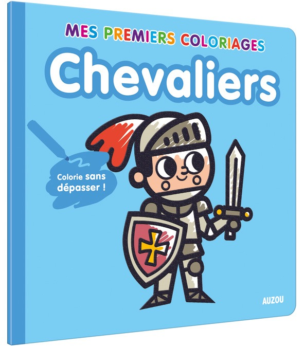 MES PREMIERS COLORIAGES - CHEVALIERS