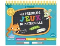 MES PREMIERS JEUX DE MATERNELLE 3-4 ANS - ED. 2016 (COLL. GRAINE DE CHAMPION)