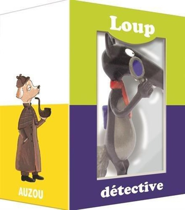 FIGURINE INDIVIDUELLE LOUP DETECTIVE