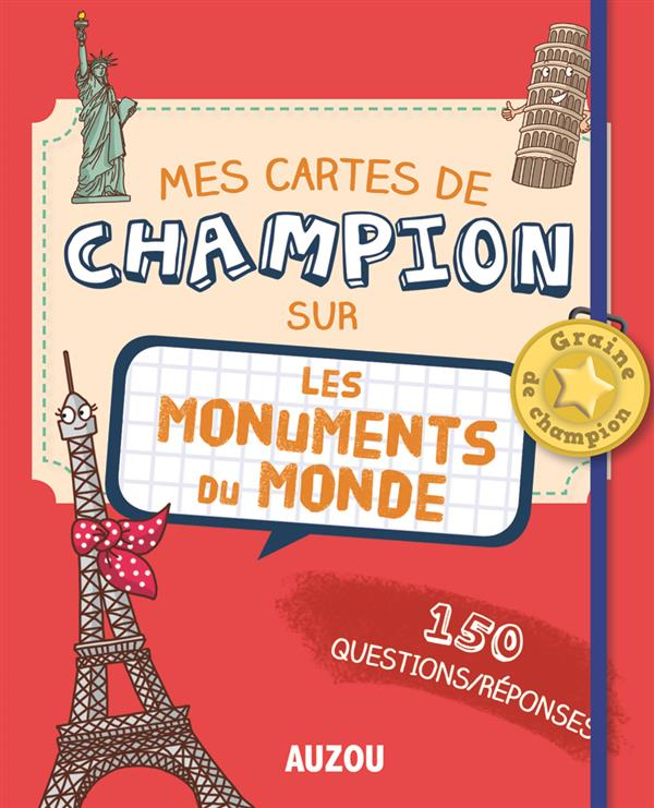 Mes cartes de champion sur les monuments du monde