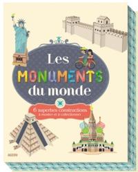 LES MONUMENTS DU MONDE (COLL. COFFRET PAPERTOYS)